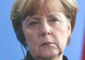 Třesoucí se Angela Merkelová